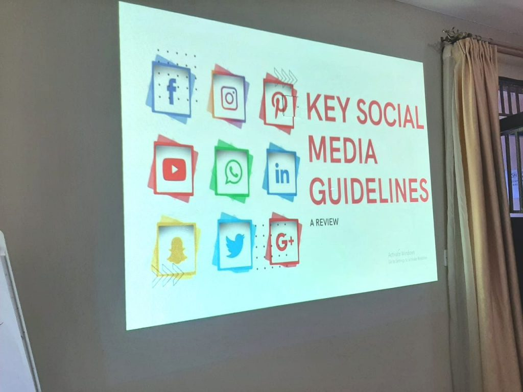 Equipping Think Tanks/Government in Effective Social Media Communication; Admedia Trains KIPPRA Communication Team in Social Media Strategy Development
